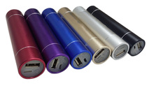 popular promotional gift 3000mAh Tube Power Stick with LED Flashlight for smart phone
