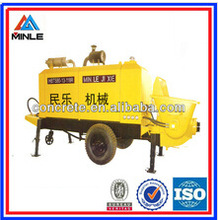 diesel beton pumping machine 40m3/h concrete output with competitive price Chinese factory Alibaba supplier