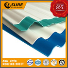 roofing material decorative corrugated plastic pvc sheet with low price
