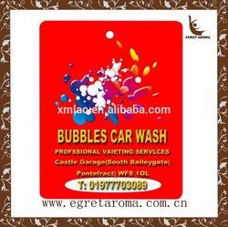 best custom paper hanging car air freshener for promotion