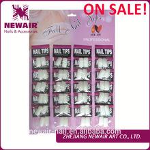 480 Pcs Natural ABS Professional Nail Art Tips