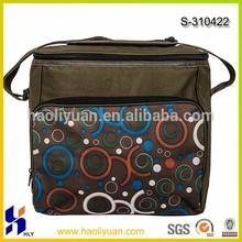 600D front pocket aluminium foil cooler bag