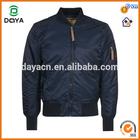 Custom made hot sale man nylon bomber jacket wholesale