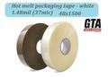 Costumbre hacer oem 1.48 mil blancolarga hm rollo de cintas adhesivas