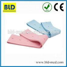 Latex free Disposable fetal CTG belt blue/pink