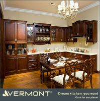 modern laminate solid wood kitchen cabinets