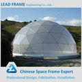 Marco de espacio de acero ligero para Casa de Cúpula Geodésica