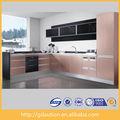 laca moderna modular gabinetes de cocina de cocina