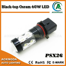 PSX26W Osram 60W high power LED bulb for Chevrolet MAZDA Toyota