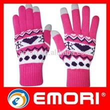Non-toxic all-purpose winter glove for cover iphone 6