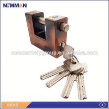 Malaysia market full brass cylinder waterproof gate lock