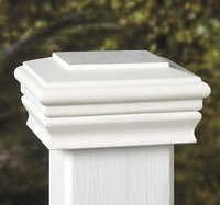 Beautiful high quality solid wood fence post cap(EFS-PC-005)