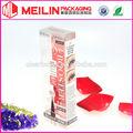 novo estilo de cosméticos caixas de plástico transparente