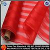 Very cheap wholesale organza santa claus christmas fabric for christmas decoration/socks
