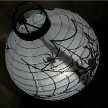 Halloween decoration festival hanging Pumpkin Paper Lantern scary facial expression ghost essence props Jack horror FC90127