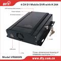 Dty vr8800n 4-ch full d1 cvbs 12- volts. dvr pour la voiture