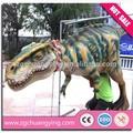 parque de atracciones animatrónicos dinosaurio marioneta