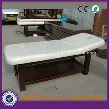 shelf massage table & wooden massage table & unfolding massage table