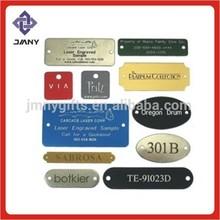 Modifiche del metallo/tag in metallo personalizzati/modifiche del metallo per i gioielli