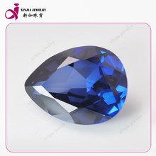 loose corundum gems corundum synthetic pear gems blue corundum ruby