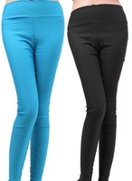 Solid color Ladies Skinny Low Jeans