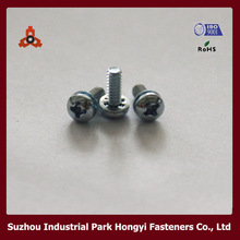Sewing Machine Parts Screws Type Of Cross Pan Head And Internally Toothed Washer Attached