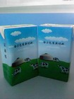 HELI high quality 250ml base aseptic packaging box for juice ,milk,tea,liquor,drinks/dairy box