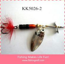 KK 5026-1 New Ice Fishing Lure China With Hooks Bait Free Fishing Tackle Samples