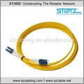 De un solo modo de lc/upc de fibra óptica patch cord