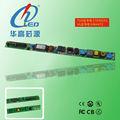 Rotatória LED tubo levou tubo guardrail LED motorista de poder atacado LED red tube sexo para HGTF-G101A-U040