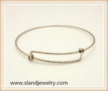 Alibaba website China supplier online wholesale stainless steel expandable bangle ,wire adjustable bracelet(SEB-201)