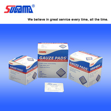 Sterile compress gauze sponge factory