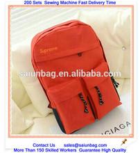 600D Polyester slazenger backpack bag for teenger