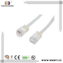 CAT5e/CAT6/CAT6a/ CAT7 flat cable /patch cord/patch cable