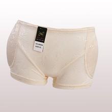 New design Seamless hip pad panty breathable push up panties