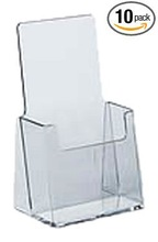 Counter Trifold Brochure Holder 10 Pack Tri-Fold