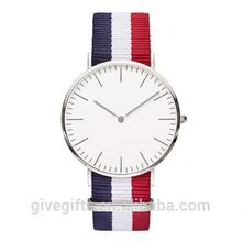 Wholesale china watch leather Nylon Nato straps vogue watch