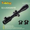 8x-25x50 Long Range Locking Turrets Hunting Side Focus 30mm Riflescope