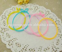 Multi purpose jewelry bracelet, Multicolor silica gel/silicone string