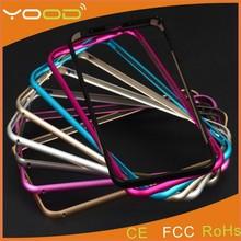 HOT SALE For iphone 6 Bumper case,aluminium metal bumper