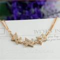 Atacado 925 prata rosa de ouro Jewerly pulseira pulseira de prata antigo com charme