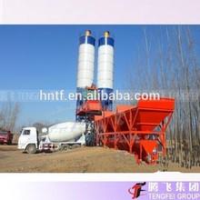 HZS35 Small concrete batch plant layout