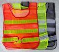 3 en color de alta visibilidad de la carretera de equipo de seguridad, malla reflectante chaleco