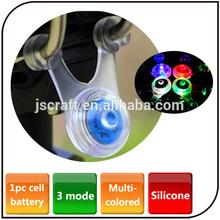 Colored flashing bike light bicycle spoke Light Mini Rubber Decorative led bike Hanging light