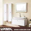 "Vama gros chêne massif 48"" modernes vanités de bain"
