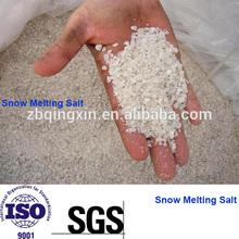 El cloruro de calcio fusión de la nieve 74% sal