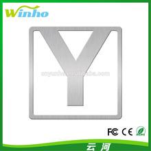 Winho Fancy Bookmark Letter Y