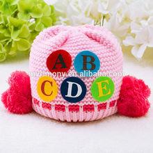crochet knitting children winter hats for wholesale