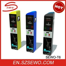 Hot Selling Model Automated Vehicle Access Control IC Card Parking System