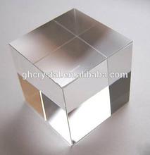 Crystal blank block Crystal gift accept 3D laser Engraved sand blast